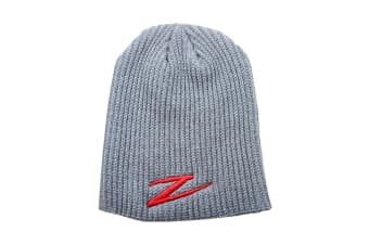 ZMan Lures Zman Quick Drying Acrylic and Knit Construction Beanie - Charcoal/Gray