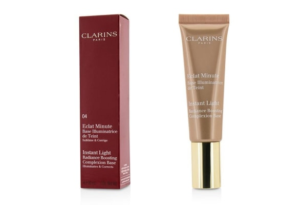 Clarins Instant Light Radiance Boosting Complexion Base - # 04 Apricot (30ml/1oz)
