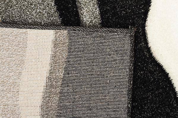 Modern Thick Wave Rug Charcoal 300x80cm