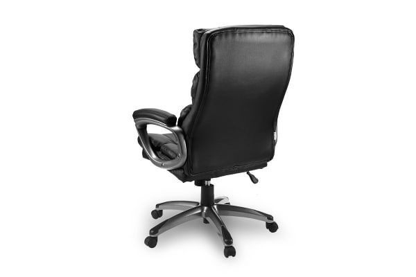 Ovela Plush High Back Padded Office Chair