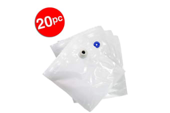 20x Small Seal Bags 19.5x22.5cm for Tiffany Vacuum Food Freezer Container TVS02