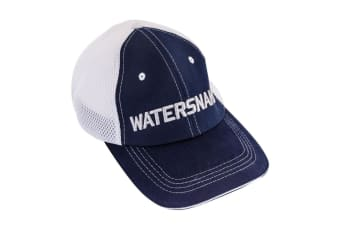 Watersnake Embroidered Fishing Cap with Adjustable Strap
