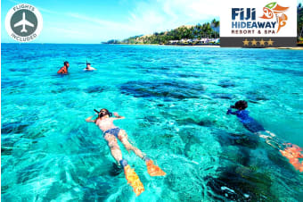 FIJI: 7 Nights at Fiji Hideaway Resort Including Flights For Two