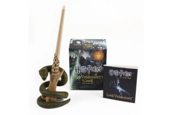 Harry Potter Voldemort's Wand with Sticker Kit - Lights Up!
