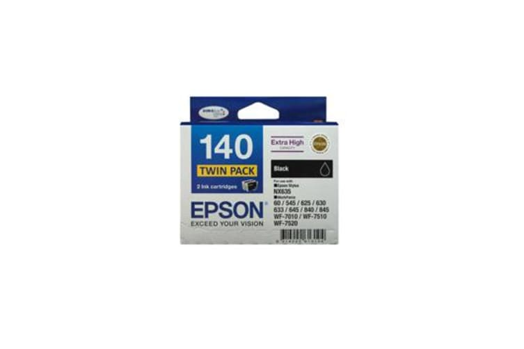 Epson Extra High Cap Black Ink Cartridge TWIN PACK