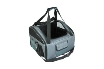 Portable Soft Pet Carrier Crate S - GREY
