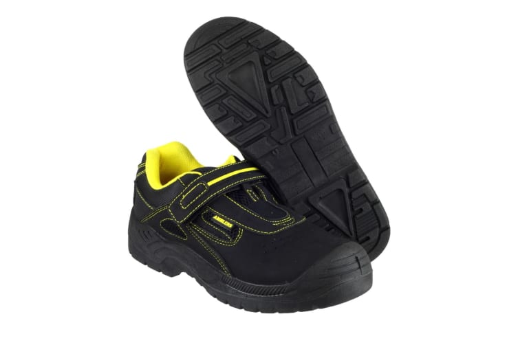 Amblers Safety FS77 Safety Trainer / Mens Trainers (Black) (9 UK)