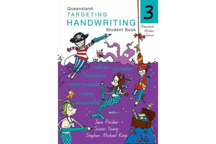 Targeting Handwriting - Qld 3 Student Book