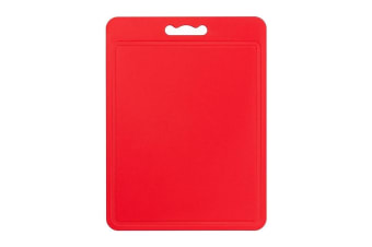 Chef Aid Poly Chopping Board (Red) (40 x 30cm)