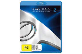 Star Trek the Original Series Season 2 Blu-ray Region B