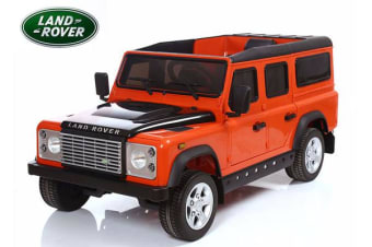 Land Rover Defender Suv 70W Motor 12V Battery Eva Tyre Kids Ride On Car Licensed