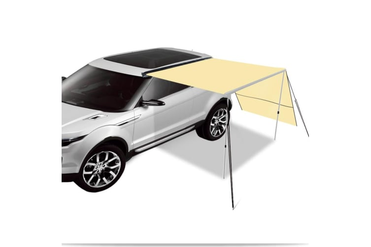 2.5M 3M Car Side Awning Extension Roof Rack Covers Tents Shades Camping 420D New