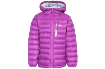Trespass Childrens/Kids Morley Down Jacket (Purple Orchid) (11-12 Years)