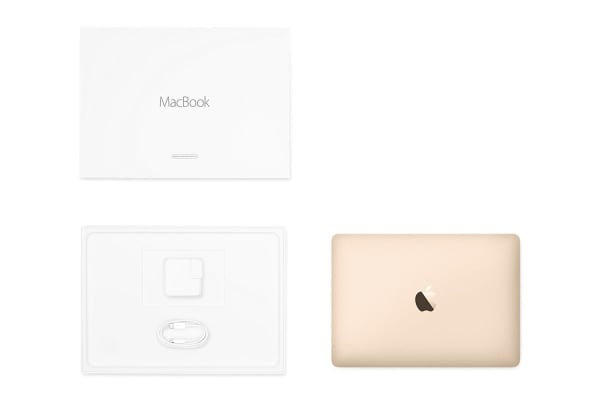 "Apple 12"" MacBook (256GB, 1.1GHz m3, Rose Gold) MMGL2 - Apple Certified Refurbished"