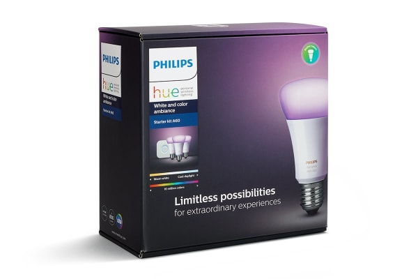 Philips Hue White and Colour Ambiance Starter Kit E27 - (Damaged Packaging)