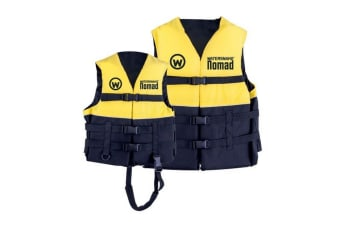 Watersnake Nomad Adult or Child Life Jacket - Level 50 PFD Size:Large Adult