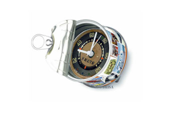 VW Postcard Design Speedo Dial Can Clock (Multicoloured) (One Size)