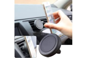 Universal Magnetic Quick Snap Car Air Vent Mobile Smart Phone Iphone Mount 1503