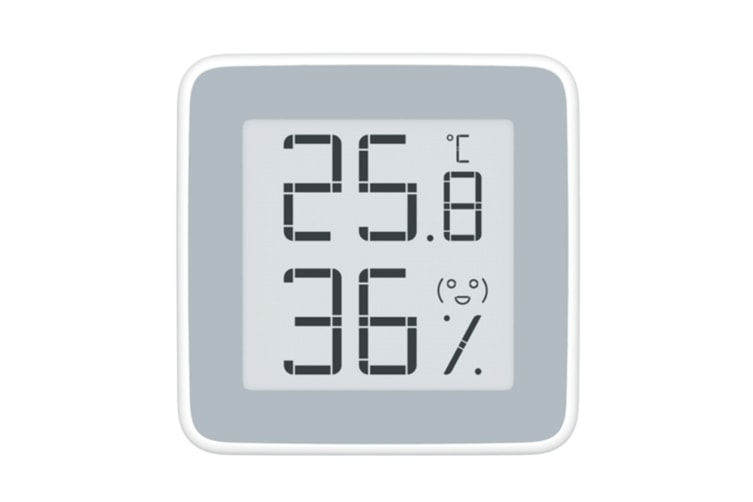 WJS Seconds Seconds Temperature and Humidity Meter Electronic Ink Screen Indoor Electronic Temperature and Humidity Meter