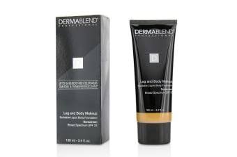 Dermablend Leg and Body Make Up Buildable Liquid Body Foundation Sunscreen Broad Spectrum SPF 25 - #Medium Bronze 45N 100ml