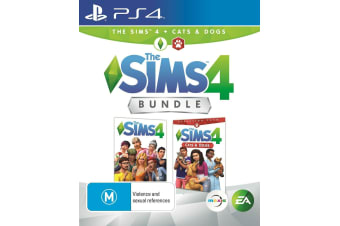 THE SIMS 4 CAT & DOG BUNDLE PS4 PlayStation 4 GAME GREAT CONDITION