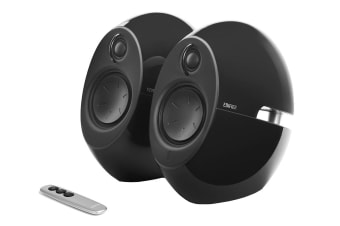Edifier E25HD Luna HD Bluetooth Optical DSP 74W Speakers with 3.5mm AUX - Black (SPE-E25HD-BK)