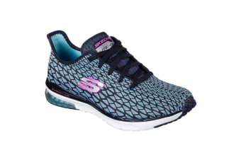 Skechers Womens/Ladies SK12206 Skech Air Infinity Sports Shoes/Trainers (Navy Turquoise) (3 UK)