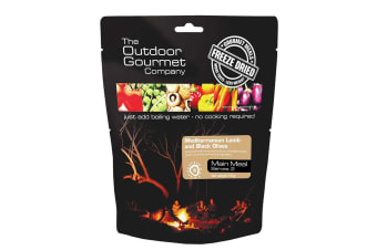Outdoor Gourmet Medium Lamb with Black Olives (Double)