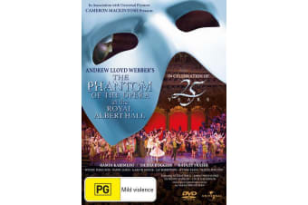 The Phantom of the Opera at the Albert Hall 25th Anniversary DVD Region 4