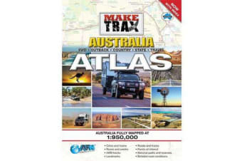 Make Trax Australia Maxi Atlas with Index