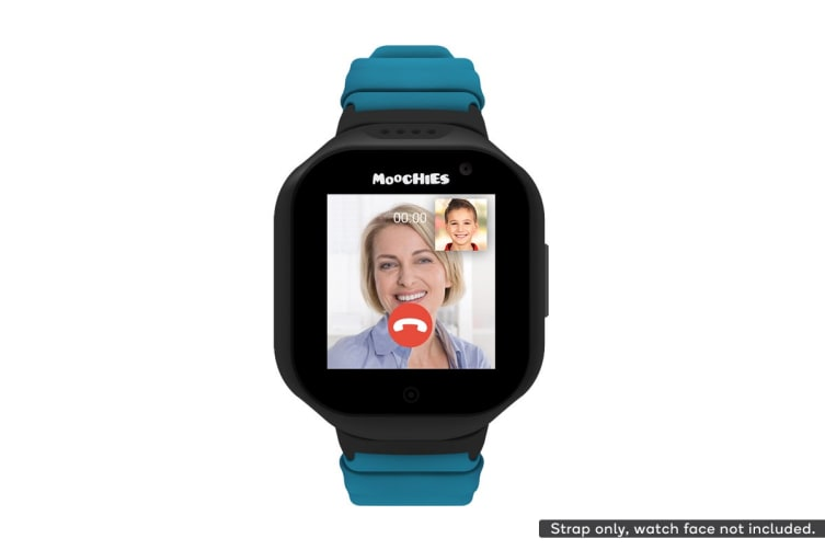Moochies Silicone Watch Strap (Turquoise)