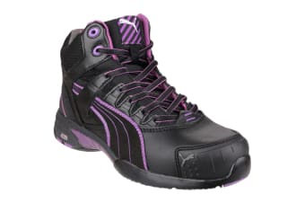Puma Safety Stepper Mid Womens Safety Boots (Black)