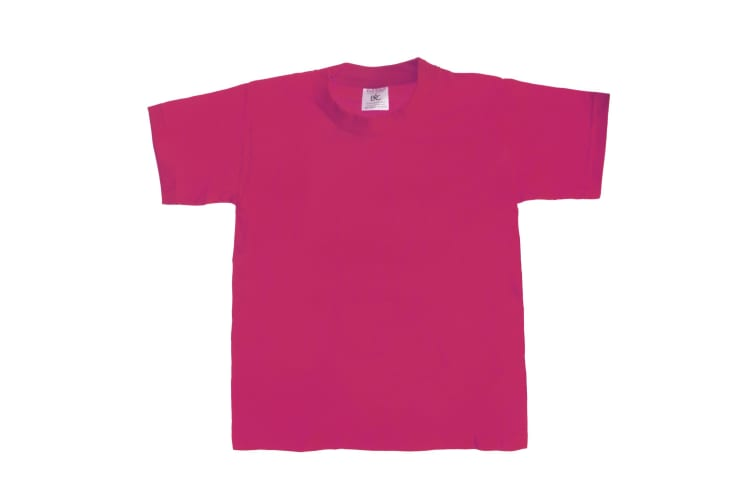 B&C Kids/Childrens Exact 190 Short Sleeved T-Shirt (Sorbet) (9-11)