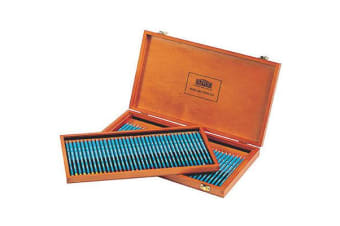 DERWENT WATERCOLOUR PENCILS WOODEN BOX 72