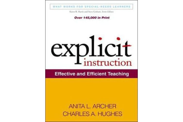 Explicit Instruction - Effective and Efficient Teaching