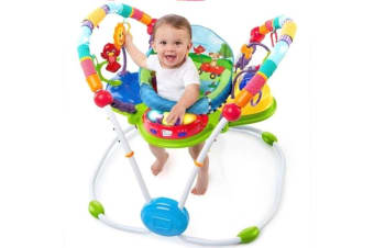 Baby Einstein Be Neighborhood Toddler Activity Jumpers/Music/Toys/Sound  6m+