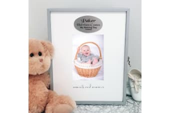 Naming day Keepsake Box with Personalised Plaque