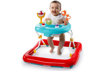 Bright Starts Pals Foldable Walker w/Play Activity Toy/Sound for Baby/Toddler