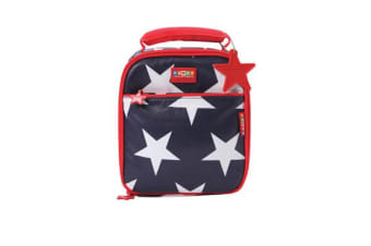 Penny Scallan School Lunchbox Navy Star