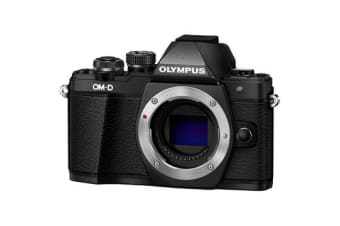 New Olympus OM-D E-M10 MK II (Body) Kit Digital Cameras Black (FREE DELIVERY + 1 YEAR AU WARRANTY)