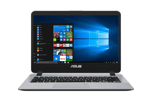 "ASUS 14"" UltraSlim VivoBook Core i5-7200U 8GB RAM 256GB SSD Windows 10 Pro Notebook (X407UA-BV108R)"