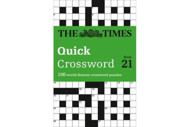 The Times Quick Crossword Book 21 - 100 General Knowledge Puzzles from the Times 2