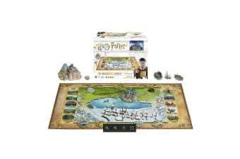 4D Harry Potter Wizarding World of Hogwarts 543pc Puzzle
