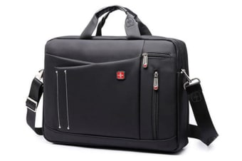 "15"" Laptop Carry Bag Briefcase Messenger Shoulder Bag Svvtss Cfap"