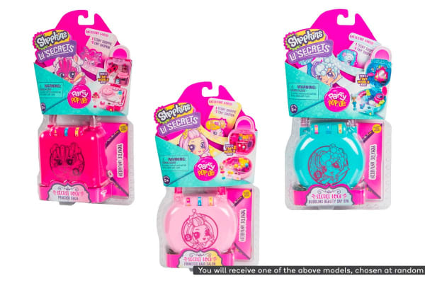 Shopkins Lil' Secrets Mini Playset S2 W1 (Assorted)