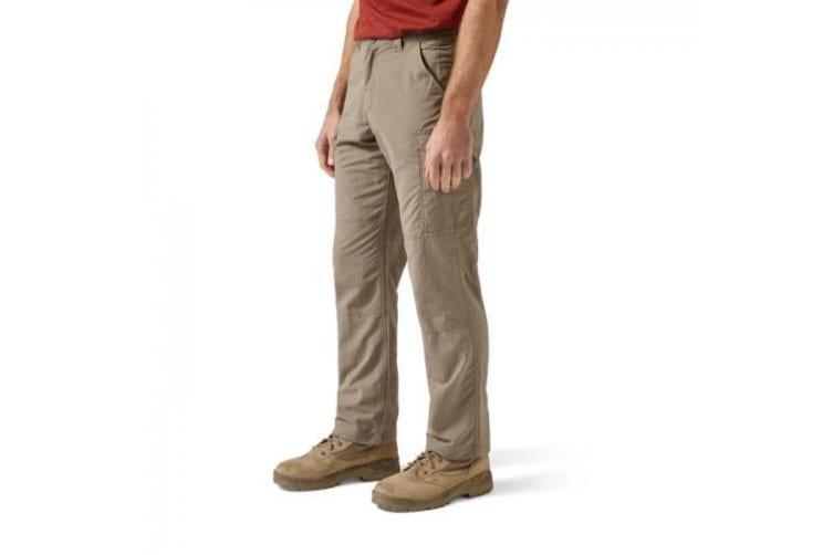 Craghoppers Mens NosiLife Cargo II Trousers (Pebble) (42S)