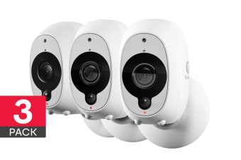 Swann Smart Security Wireless 1080p Battery Camera with True Detect - 3 Pack (SWWHD-INTCAMPK3) - Pre-owned