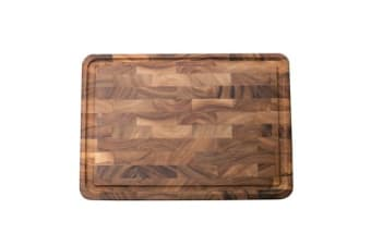 Ironwood Charleston End Grain Chopping Board w/ Channel 51x35.5x3cm