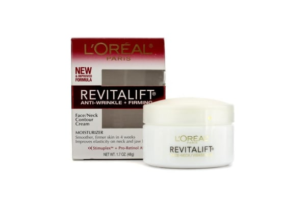 L'Oreal RevitaLift Anti-Wrinkle + Firming  Face/ Neck Contour Cream (48g/1.7oz)