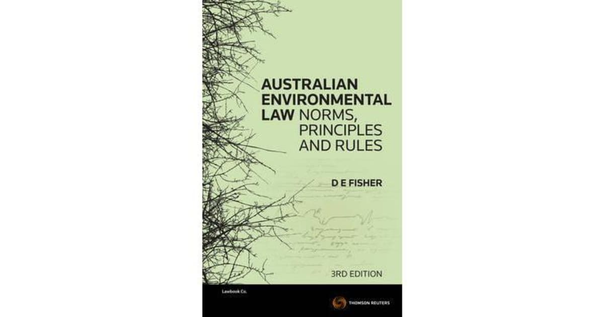 an examination of environmental law Environmental law is a complex mix of federal (k3585 s74 2009) provides the first comprehensive examination of international environmental litigation.